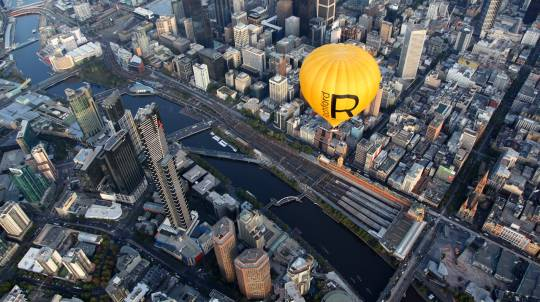 Hot Air Balloon Ride Over Melbourne with Breakfast - For 2