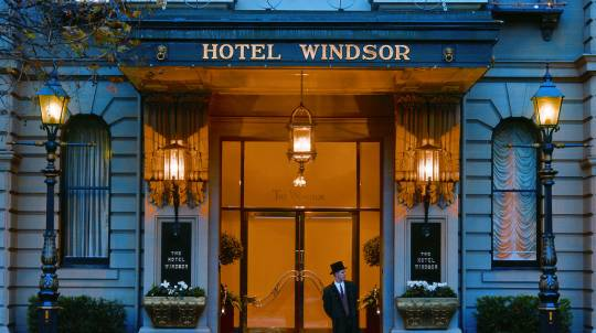 The Hotel Windsor Getaway with Wine and Strawberries