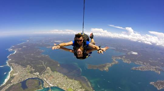 Tandem Skydive Over Newcastle - Up To 15,000ft - Weekend