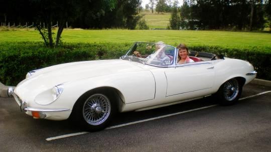 Sydney Classic Car - 1968 Jaguar E Type For A Day