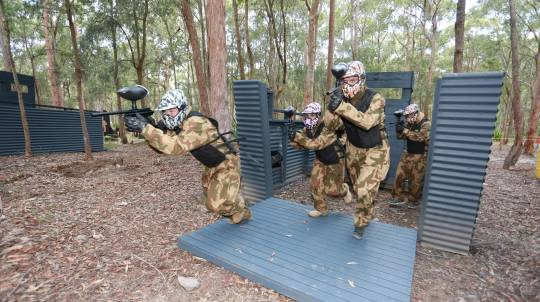 Group Paintball Experience - 100 Paintballs - Newcastle, NSW