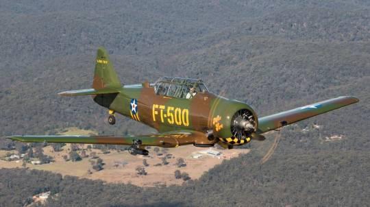 Aerobatic Adventure Flight in a WW2 Warbird Aeroplane