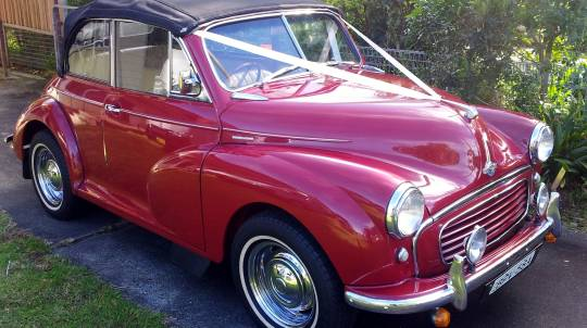 1958 Morris 1000 Convertible Full Day Car Hire