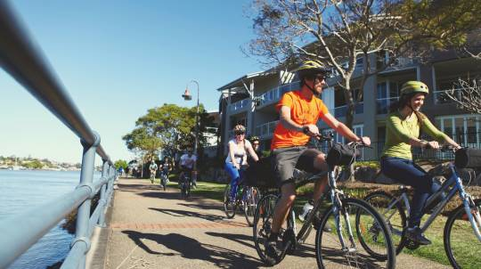 Essential Brisbane Guided Bike Tour