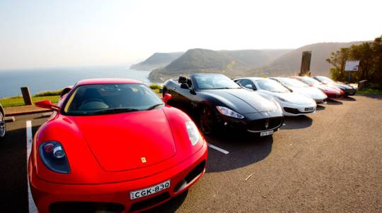 Driver and Passenger Supercar Drive Day - Monday