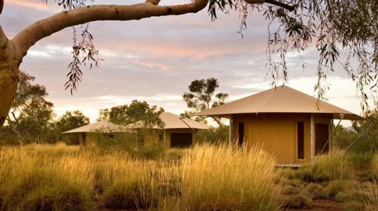 Outback Luxury Camping in Deluxe Eco Tent
