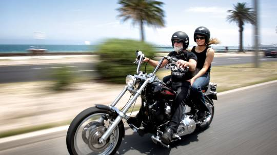 Harley Davidson Motorcycle Melbourne Tour - 1 Hour
