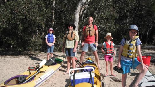 Half Day Guided Kayak on the Noosa Everglades