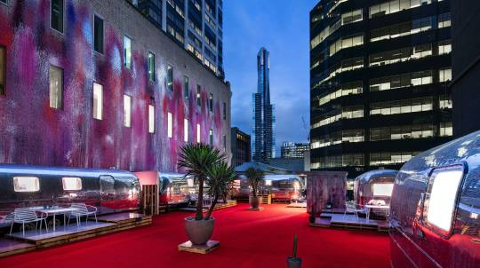 2 Night Urban Airstream Stay in Melbourne CBD - Midweek