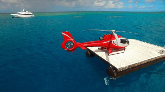 Great Barrier Reef Cruise, Dive, Snorkelling & Heli Flight