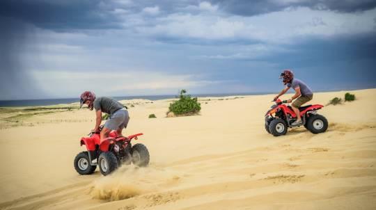 The Sandpit Quad Bike Experience - Family