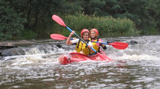 White Water Kayaking - Half Day Tour