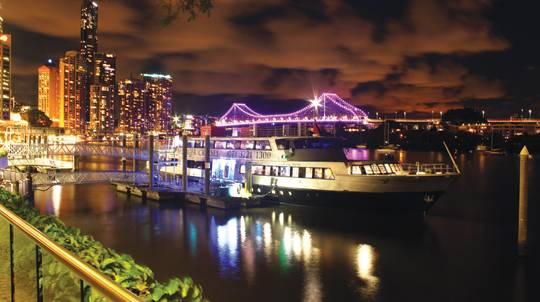 Brisbane River Dinner Cruise with VIP Romance Package- For 2