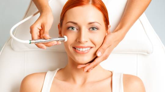 Liquid Salt Massage and Microdermabrasion Facial