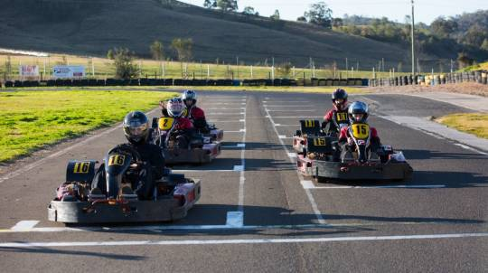 Group Challenge Outdoor Karting - 45 Minutes - For 10
