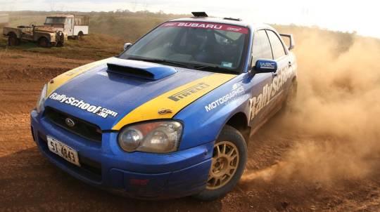 Rally Driving 3 Hot Laps - Brisbane