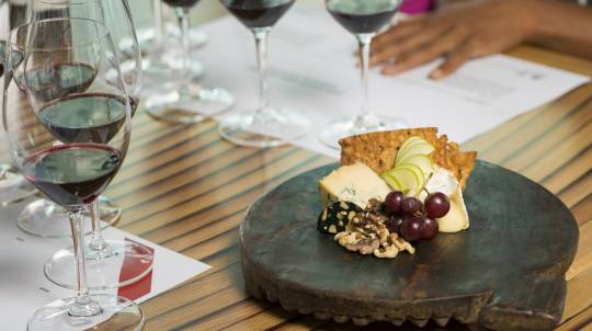 Wine Variety Discovery Class with Cheese Plate at d'Arenberg