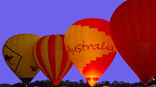 Hot Air Balloon Flight Over Atherton Tablelands - 60 Minutes