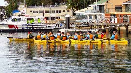 Team Building Kayaking Activity - For 6
