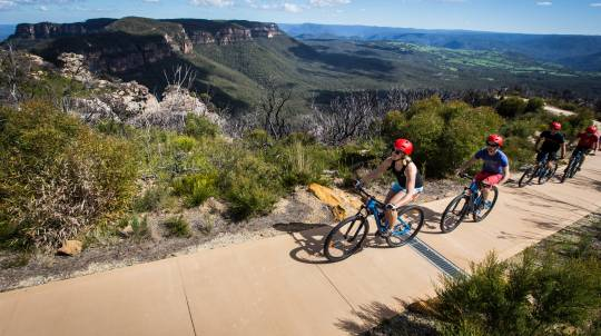 Blue Mountains Discovery Mountain Bike Self Guided Ride