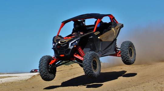 Can-Am Maverick X3 Intro - 4 Drive Laps + 1 Hot Lap - Perth