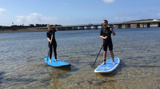 Private Stand Up Paddleboarding Lesson - 90 Minutes