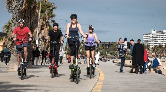 ElliptiGO Bike Scenic Bay Ride Tour - 3.5 Hours