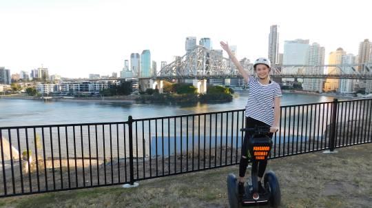 Segway Joy Ride Around Brisbane - 75 Minutes