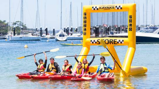 Children's Paddle Polo Kayaking Activity - For 10