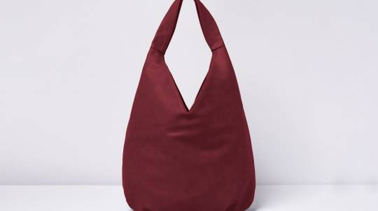 Relaxed Hobo Bag in Vegan Leather - Various Colours