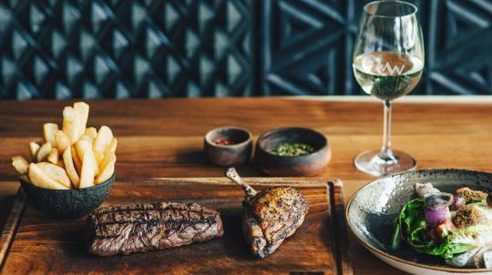 2 Course Steakhouse Lunch with Drink - For 2 - Perth