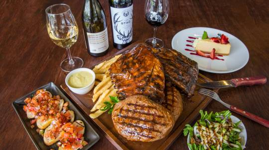 3 Course Shared Meat Magnificence - Milton - For 2