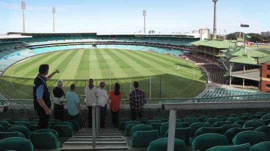 Behind the Scenes Tour of Sydney Cricket Ground