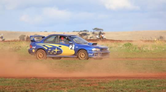 Subaru Turbo Rally Drive 16 Laps + 1 Hot Lap