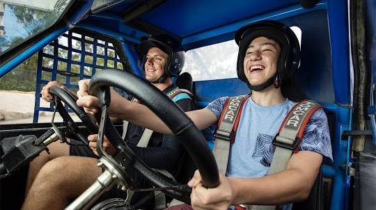 Off Road Buggy Drive - Adult and Child Combo - 8 Laps