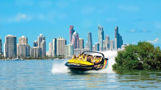 Jet Boat Ride and Currumbin Wildlife Park Entry