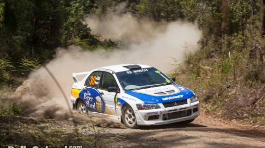 Rally Drive 2 Cars with Hot Lap - 17 Laps - Hunter Valley