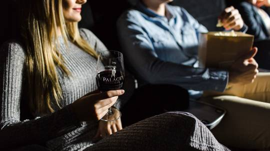 Cinema Experience with Wine and Popcorn - For 2