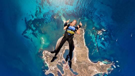 Tandem Skydive over Rottnest Island - 14,000ft