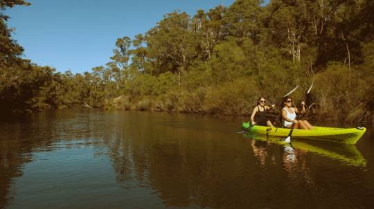 Margaret River Kayaking and Gourmet Tasting Tour
