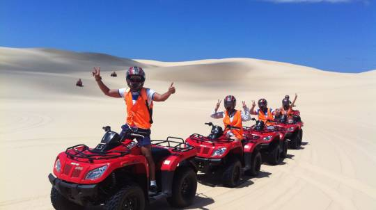 Quad Biking, Sand Boarding and Aboriginal Culture Tour