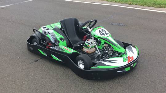 Junior Outdoor Karting - 4 x 10 Minute Intervals