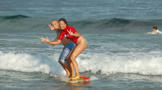 Surfing Lesson with Transfers - Half Day