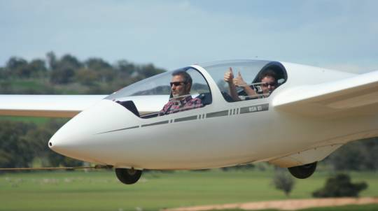 Gliding Introductory Flight over the Avon Valley