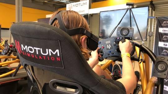 Virtual Reality Simulator Racing Experience - 30 Minutes