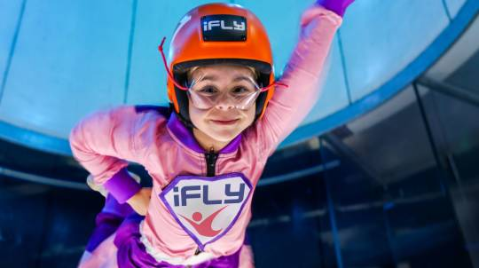 Plus Indoor Skydiving - 4 Flights - Midweek - Gold Coast