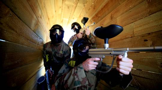 Paintball Experience - 500 Paintballs - Bonneys, WA - For 2