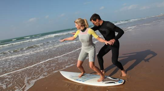 2 x 2 Hour Surfing Lessons at Manly Beach