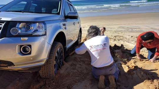 4WD Sand Driving Training Course - Full Day