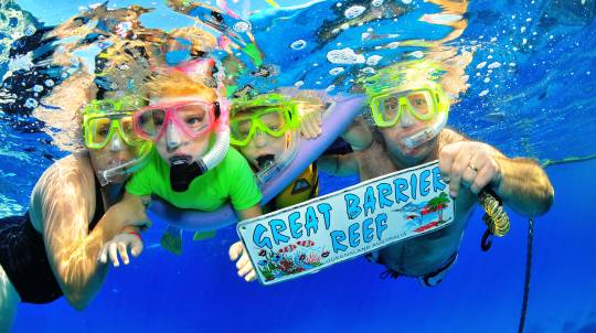 Great Barrier Reef Cruise with Snorkelling - Family